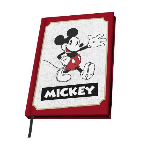 Disney Classic Mickey Mouse A5 Notebook Note Pad